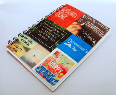 NoteBook with Quotations