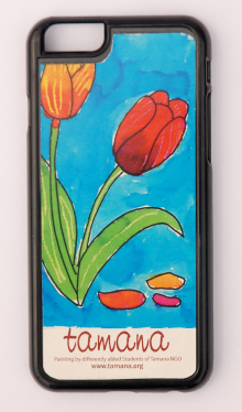 Mobile Cover with Painting Print